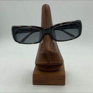Liz Claiborne L255 Tortoise Rectangular Sunglasses